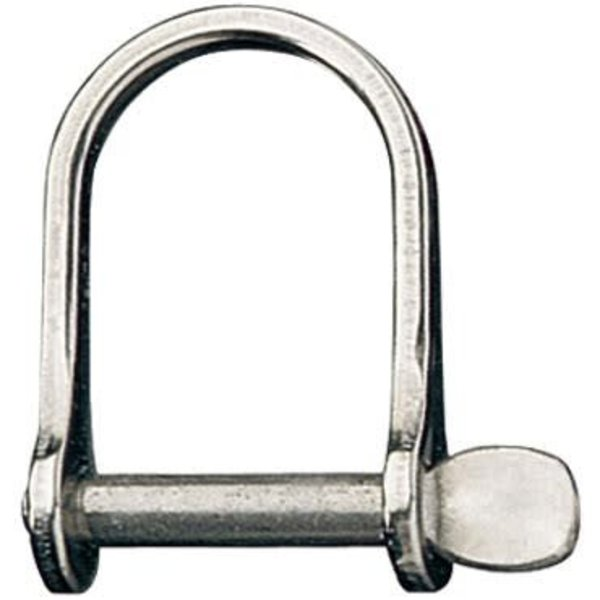 Shackle D Wide 1/4In Pin