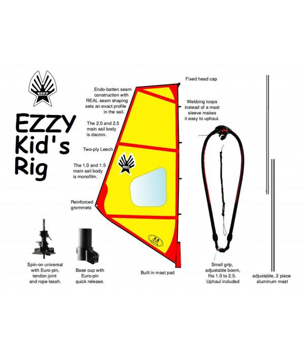 Ezzy Sails (Prior Year) Kids Rig Pack 1.0 And 1.5