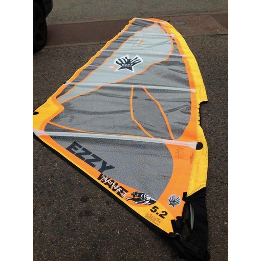 Ezzy Sails (Prior Year) Wave Tiger WIndsurf Sail 5.2M