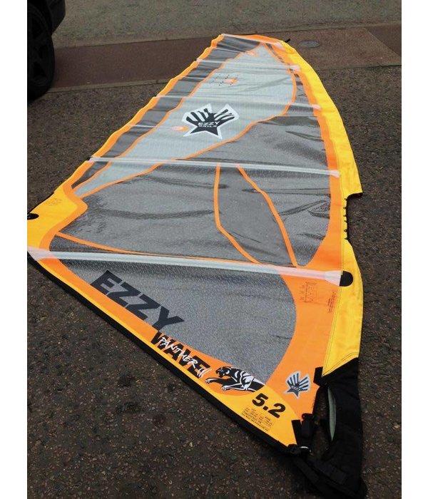Ezzy Sails (Prior Year) Wave Tiger WIndsurf Sail 5.2M