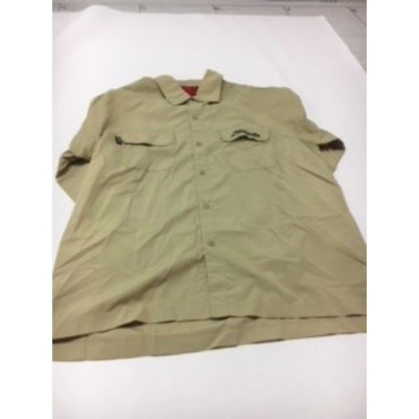 (Discontinued) L/S Shirt, Khaki, XL Hobie