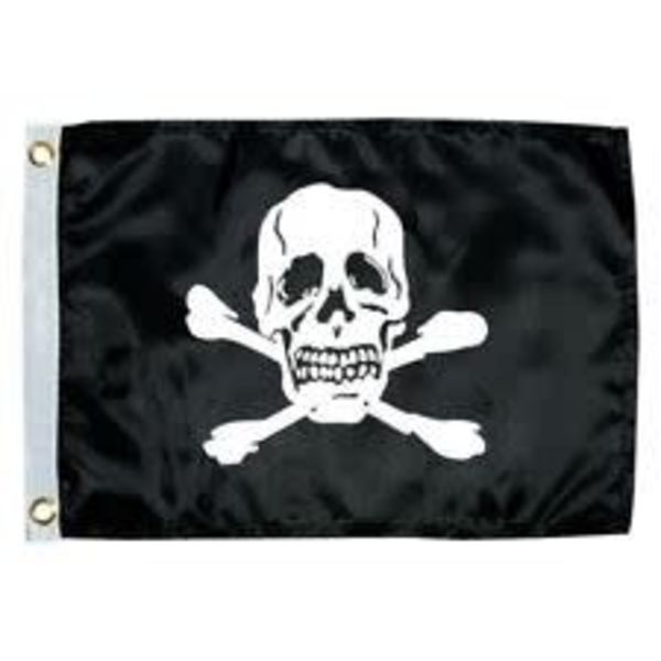 Flag Pirate (Jolly Roger) 12 x 18""