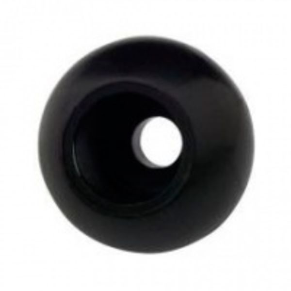 Rope Stopper Large 8 Mm Black