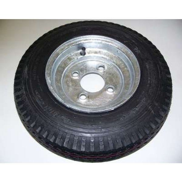 "8"" Galvanized Spare Tire Trailex"