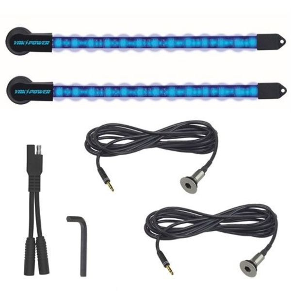 2pc LED Light Kit - Blue - 10 inch