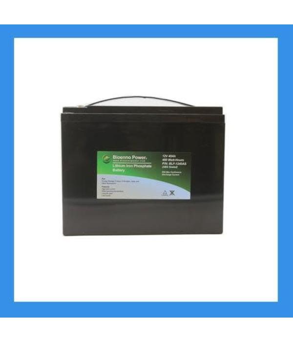 Bioenno Power 12V, 20Ah LiFePO4 Battery+Charger Kit