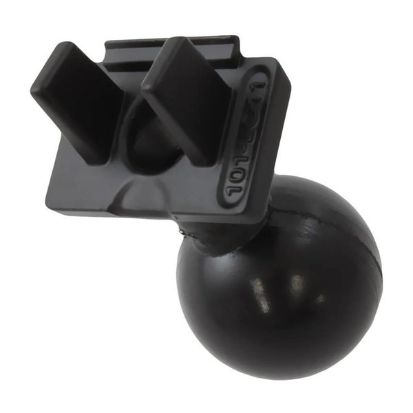 "Quick Release Adapter with 1.5"" Ball for ""RUGGED USE"" Lowrance Elite-5, Mark-5, Hook-5 & Elite 7 Ti Fishfinders"