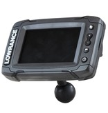 """RAM Mounts® Quick Release Adapter with 1.5"""" Ball for """"RUGGED USE"""" Lowrance Elite-5, Mark-5, Hook-5 & Elite 7 Ti Fishfinders"""