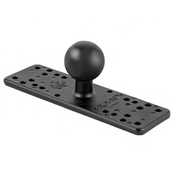 "Universal Electronics Base with 1.5"" Ball - 6.25"" x 2"""