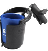 RAM Mounts Level Cup™ Drink Holder with Koozie & Double Socket Arm