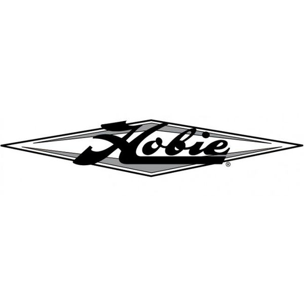 Decal 36'' Hobie Diamond Silver (1)