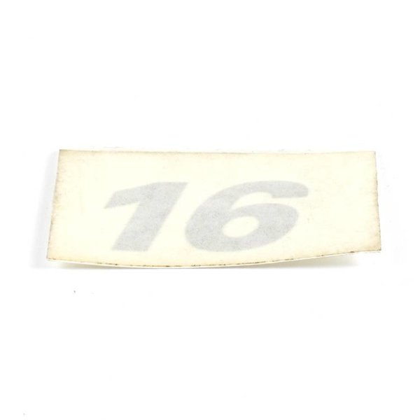 Decal 16 Silver