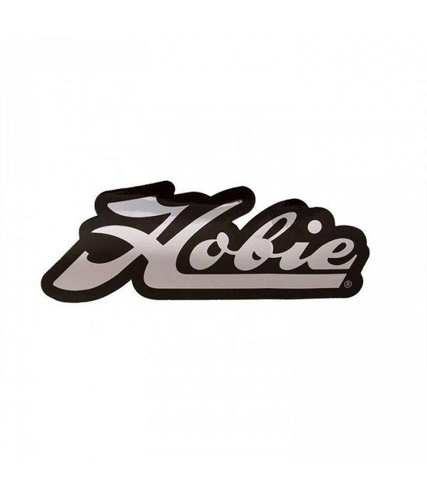 Hobie Decal Hobie Script Chrome/Black