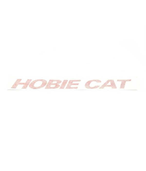 Hobie Decal Hobie Cat Red