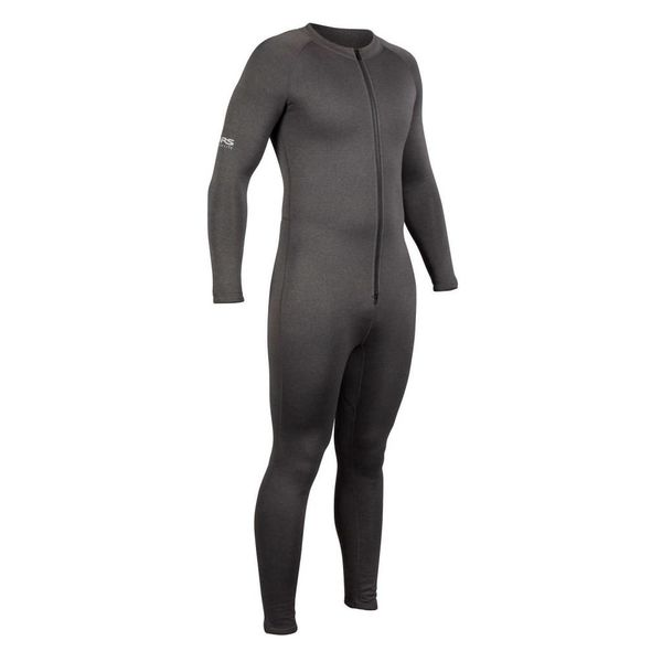 Expedition Union Suit, Charcoal Heather
