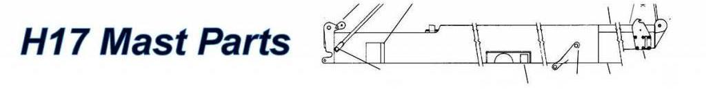 Hobie 17 Mast Parts