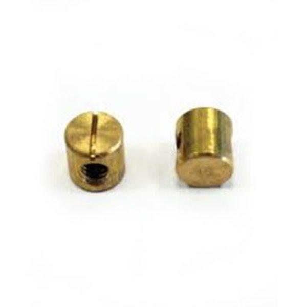 Brass Barrel Nut 12mm 1/4-20