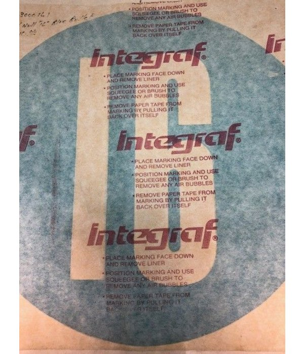 Hobie (Discontinued) H-16 Hull Decal