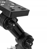 Yak-Attack Humminbird Helix Fish Finder Mount with Track Mounted LockNLoad Mounting System