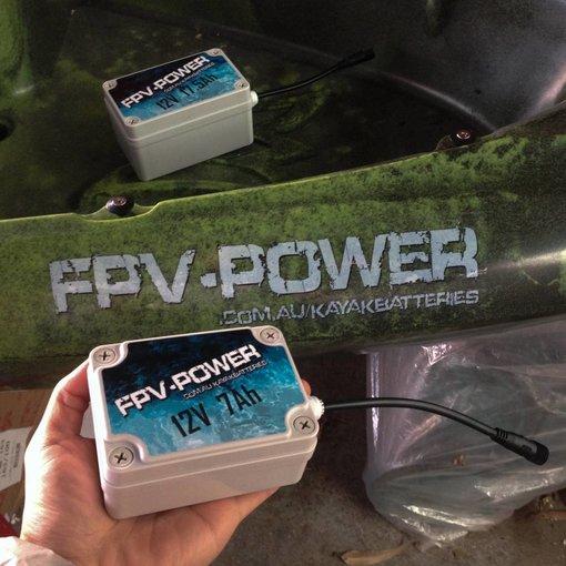 FPV - Power Lithium 7 Ah Kayak Battery & Charger