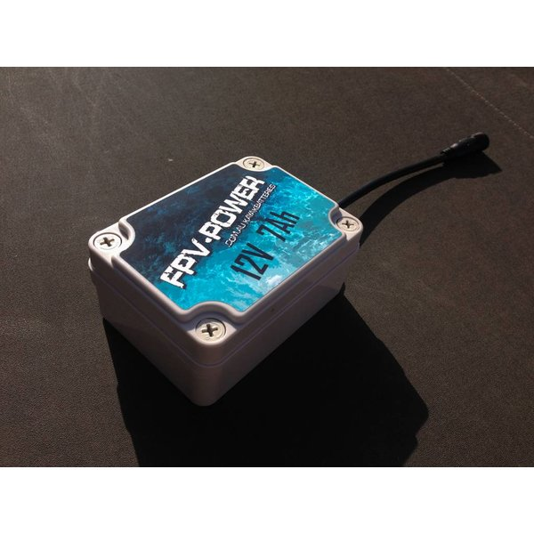 (New) 7Ah Waterproof Lithium Battery & Charger