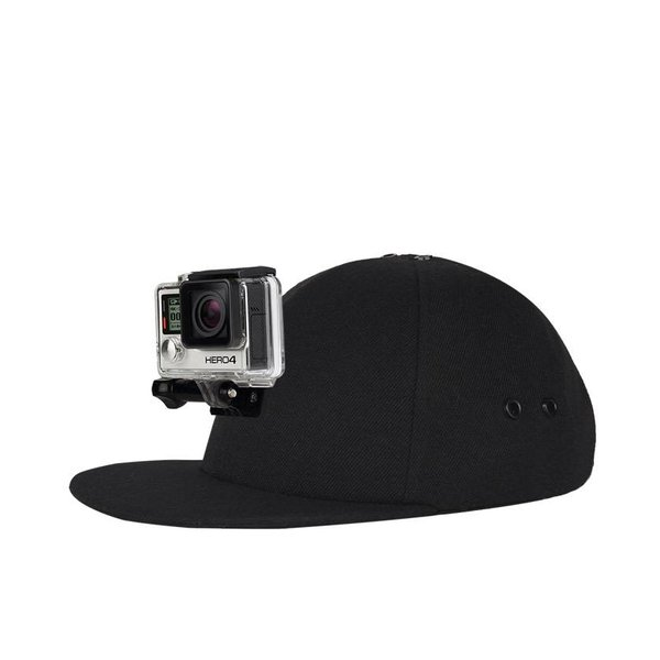 Action Hat Gopro Flat Bill
