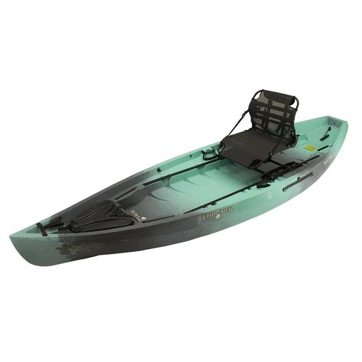 NuCanoe (Prior Year Model) (Demo) 2017 Frontier 12 Pinnacle Seat Cyan Camo