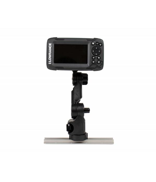 Yak-Attack Lowrance Hook2 Fish Finder Mount with Track Mounted LockNLoad Mounting System