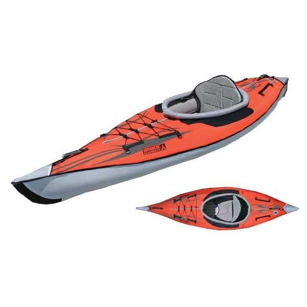 (Demo) 2019 AdvancedFrame Inflatable Kayak Red