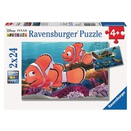 Ravensburger Ravensburger Finding Nemo: Nemos Adventure Puzzle 2 x 24pcs