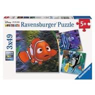 Ravensburger Ravensburger Finding Nemo In the Aquarium Puzzle 3 x 49pcs