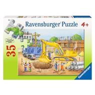 Ravensburger Ravensburger Busy Builders Puzzle 35pcs