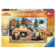 Ravensburger Ravensburger Planes Fire & Rescue Always in Action Puzzle 2 x 24pcs