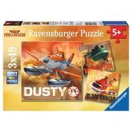 Ravensburger Ravensburger Planes Fire & Rescue: Real Rescue Planes Puzzle 3 x 49pcs