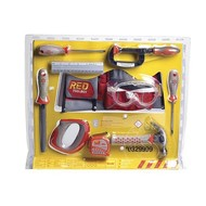 Red ToolBox Red ToolBox 10-Piece Toolset