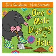 Macmillan Publisher One Mole Digging a Hole
