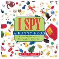 Scholastic I Spy A Funny Frog