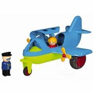 """Viking Toys Viking Toys Large Fun Color Jet Plane 10"""""""