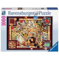 Ravensburger Ravensburger Vintage Games Puzzle 1000pcs