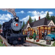 Cobble Hill Puzzles Cobble Hill Kirkland Lake Station Puzzle 2000pcs