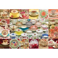 Cobble Hill Puzzles Cobble Hill Teacup Collection Puzzle 2000pcs