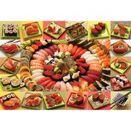 Cobble Hill Puzzles Cobble Hill Plenty of Sushi Puzzle 2000pcs