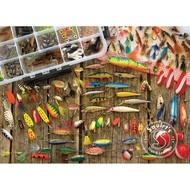 Cobble Hill Puzzles Cobble Hill Fishing Lures Puzzle 1000pcs