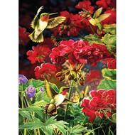 Cobble Hill Puzzles Cobble Hill Ruby Geraniums Puzzle 1000pcs