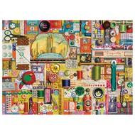 Cobble Hill Puzzles Cobble Hill Sewing Notions Puzzle 1000pcs