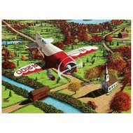 Cobble Hill Puzzles Cobble Hill Gee Bee over New England Puzzle 1000pcs