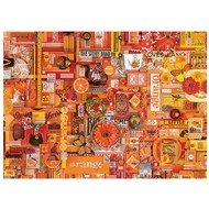 Cobble Hill Puzzles Cobble Hill Rainbow Collection Orange Puzzle 1000pcs
