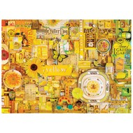 Cobble Hill Puzzles Cobble Hill Rainbow Collection Yellow Puzzle 1000pcs