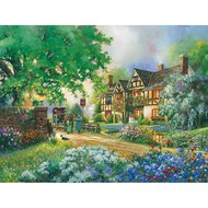 Cobble Hill Puzzles Cobble Hill Old Coach Inn Easy Handling Puzzle 275pcs