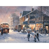 Cobble Hill Puzzles Cobble Hill Hockey Night Easy Handling Puzzle 275pcs